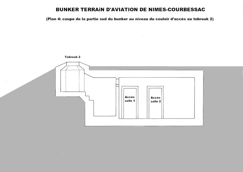 Bunker commandement d'aérodrome : Nîmes - Courbessac (30) Courb_13