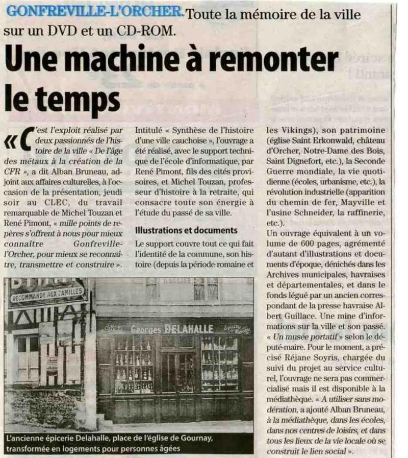 Gonfreville-l'Orcher - Mémoire sur DVD Gonfre10