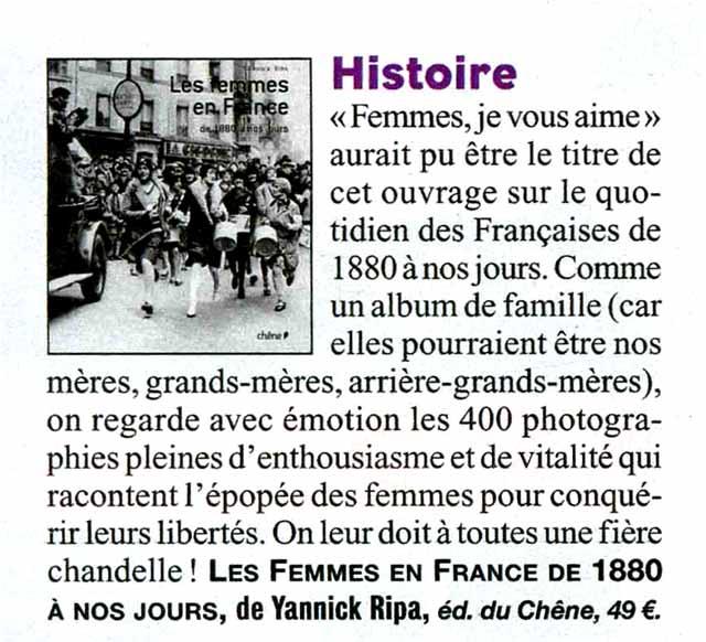 Les femmes en France de 1880 à nos jours Vie_de10