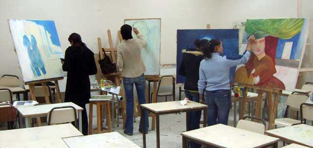 Peinture السنوات الثانية - 2007-2008 (isamk) Isamk211