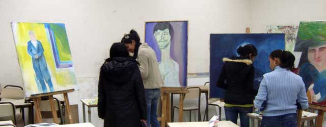 Peinture السنوات الثانية - 2007-2008 (isamk) Isamk710