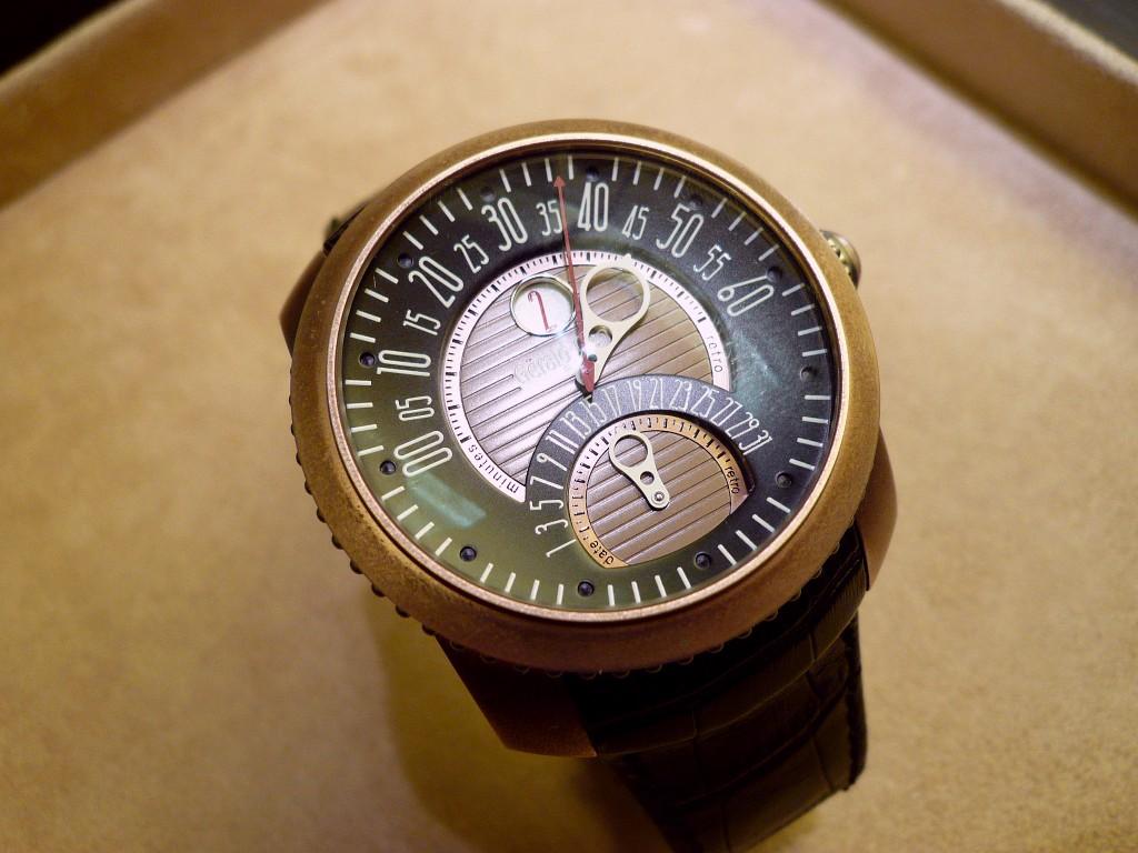 Steampunk et Onirisme dans le design horloger. Genta110