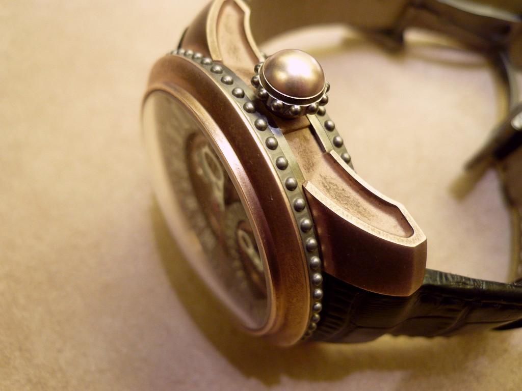 Steampunk et Onirisme dans le design horloger. Genta114