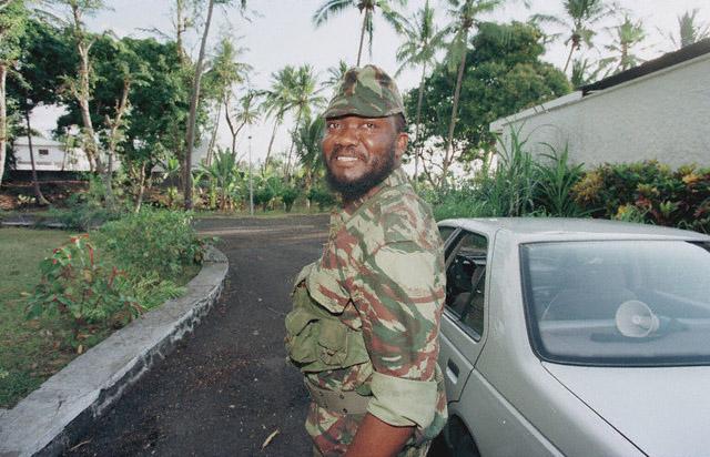 DENARD Bob olonel Comores 1995 dernier baroud 1_como10