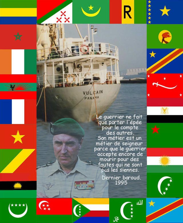DENARD Bob olonel Comores 1995 dernier baroud 1_vulc10