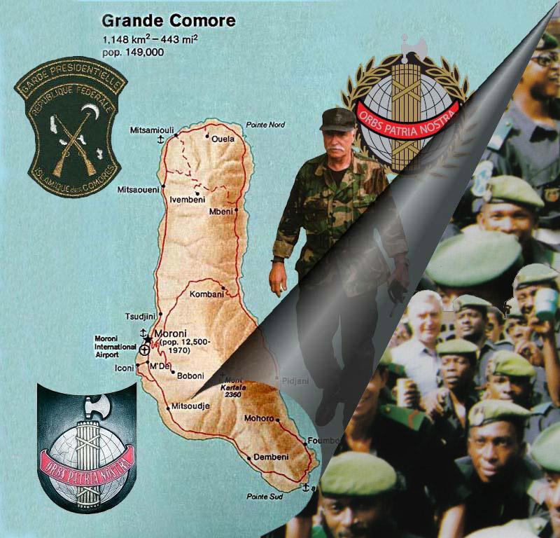 DENARD Bob olonel Comores 1995 dernier baroud 3_plaq11