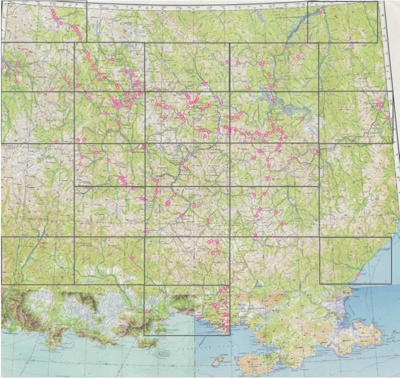 Bagnes et Camps d'internement / déportation découverts avec Google Earth Captur10