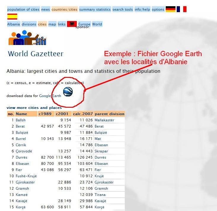 Gazetteer - PlacesNames -Localisation géographique - MapPlanet Captur26