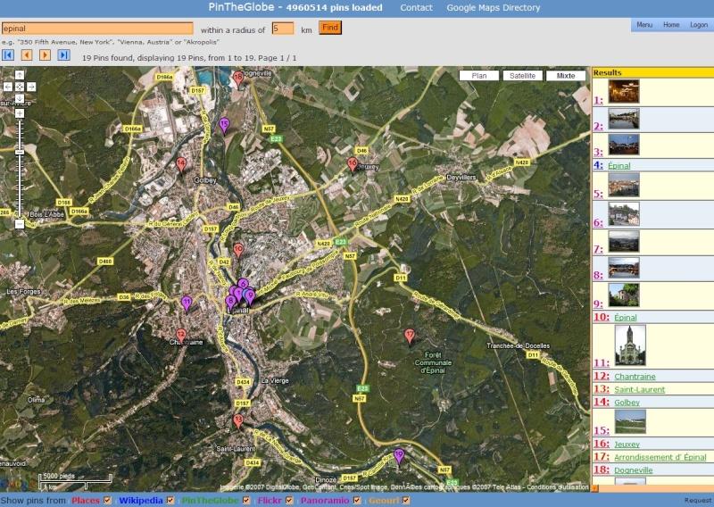 Gazetteer - PlacesNames -Localisation géographique - MapPlanet Captur28