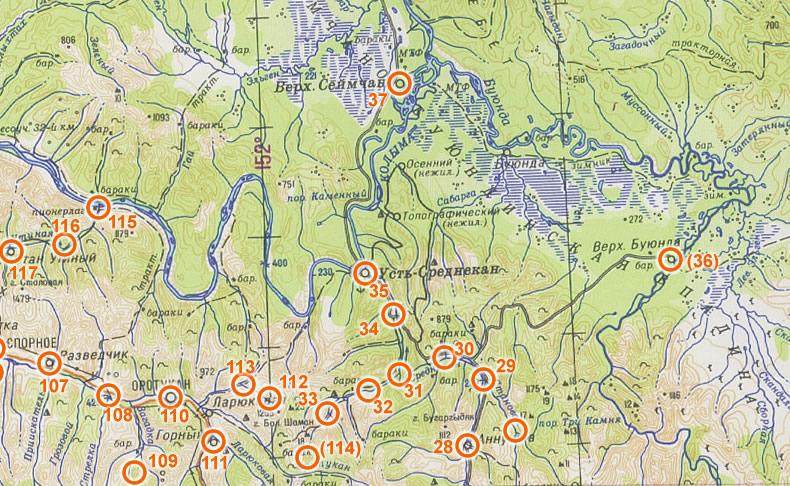Bagnes et Camps d'internement / déportation découverts avec Google Earth Gulag-10