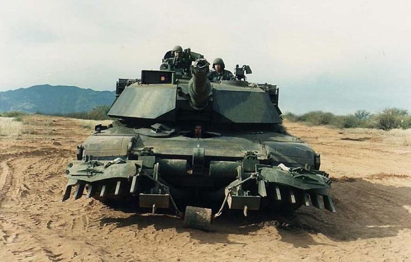 M1A1 Mine plow 00004711