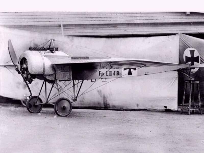 Aviones de caza alemanes de la PGM Fokker17