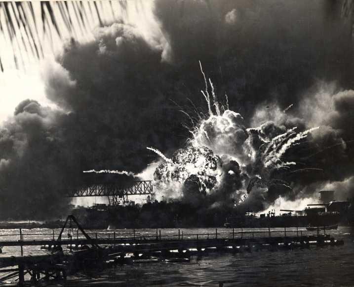 Fotos originales e ineditas del ataque a Perl Harbor Origin10