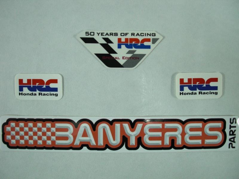 Kit 3 adhésifs 50 anniversaire Honda Racing.. Cimg7016