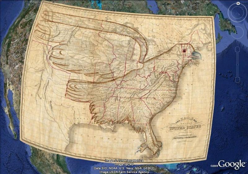 La magie des cartes historiques de Rumsey  - Page 2 Aigle_10