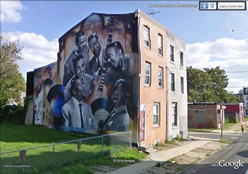 STREETVIEW : les fresques murales de Philadelphie  - Page 3 Dixie10