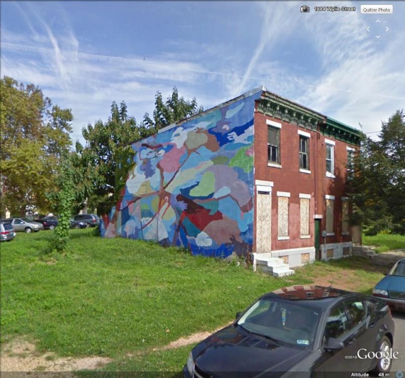 STREETVIEW : les fresques murales de Philadelphie  - Page 3 Lookin10