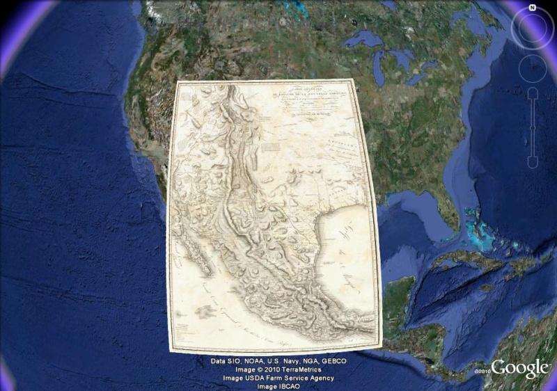La magie des cartes historiques de Rumsey  - Page 3 Mexiqu10