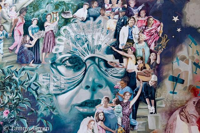 STREETVIEW : les fresques murales de Philadelphie  - Page 4 Mural110