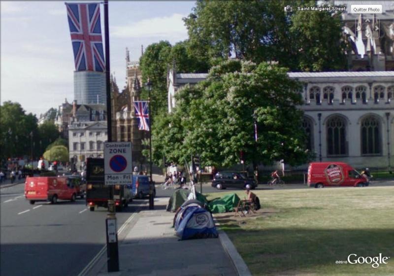 """STREET VIEW: les manifestations dans le Monde vues de la caméra des """"Google Cars"""" No_war10"""