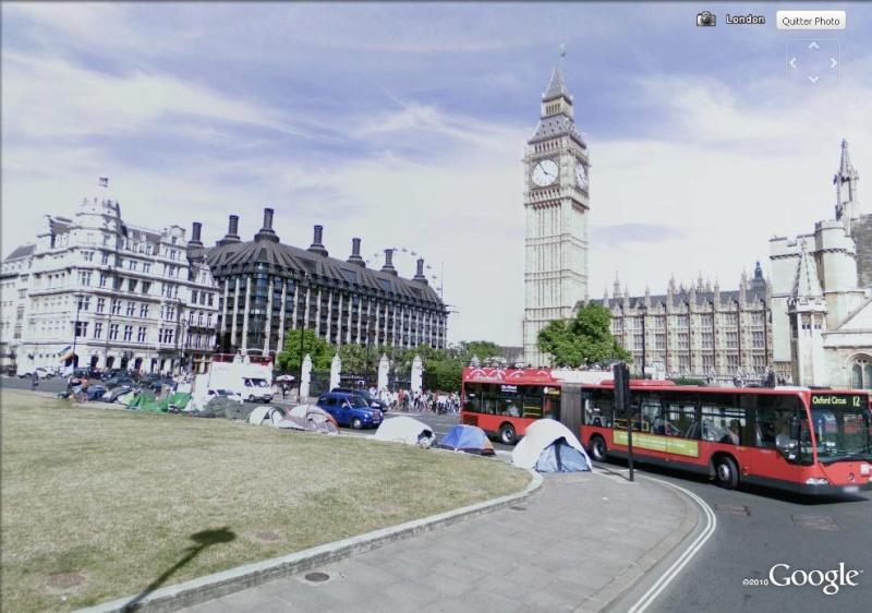 """STREET VIEW: les manifestations dans le Monde vues de la caméra des """"Google Cars"""" No_war12"""