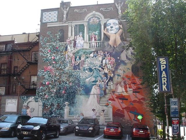 STREETVIEW : les fresques murales de Philadelphie  - Page 4 Phila_10