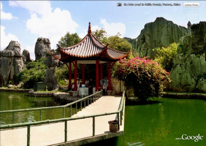 chine - Shilin, la forêt de pierre, Yunnan - Chine Trop_d11