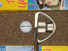Short Game - Phone Book Drill - Putting Swing Plane Book510