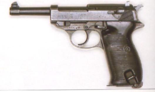 [b]Pistola Alemana Walther P-38 y la Pistola Alemana, Luger P-3810