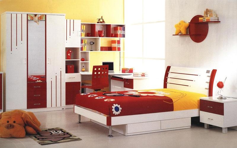 Dečije sobe- ideje Crvena10