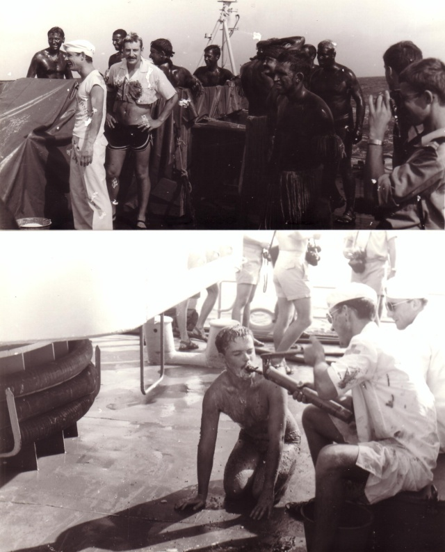 [ Les traditions dans la Marine ] LE PASSAGE DE LA LIGNE - ÉQUATEUR (Sujet unique) - Page 5 Scan1025