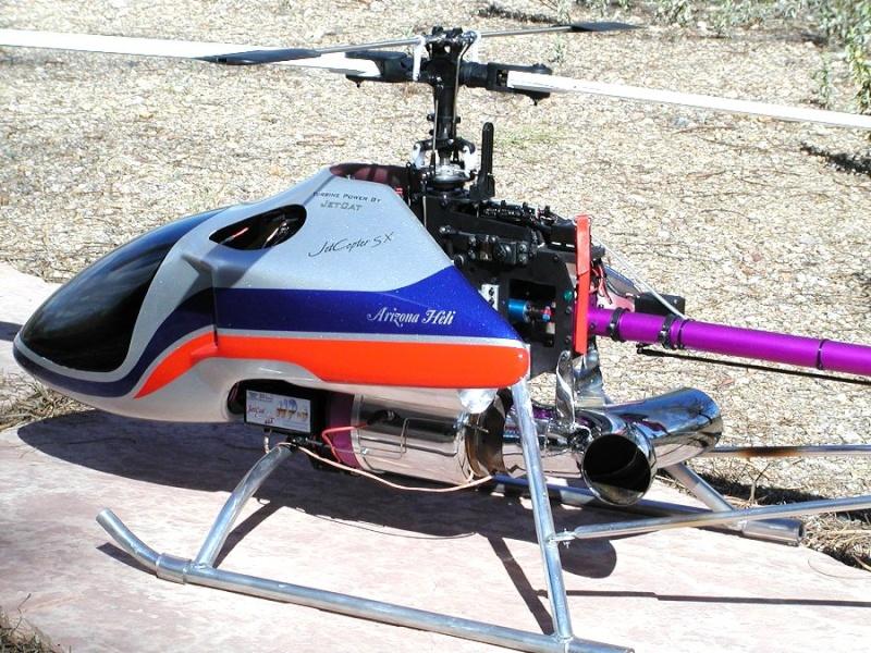 Optimización del Benzin Trainer Jetcop10