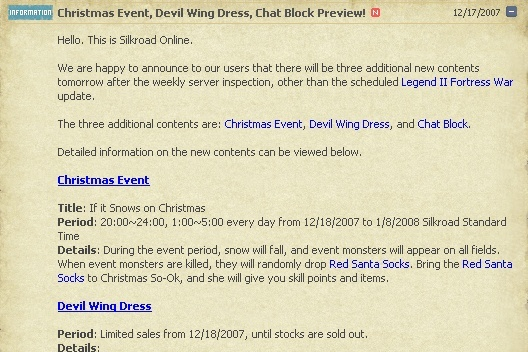 12.18 Christmas Event, Devil Wing Dress, Chat Block Preview! 112