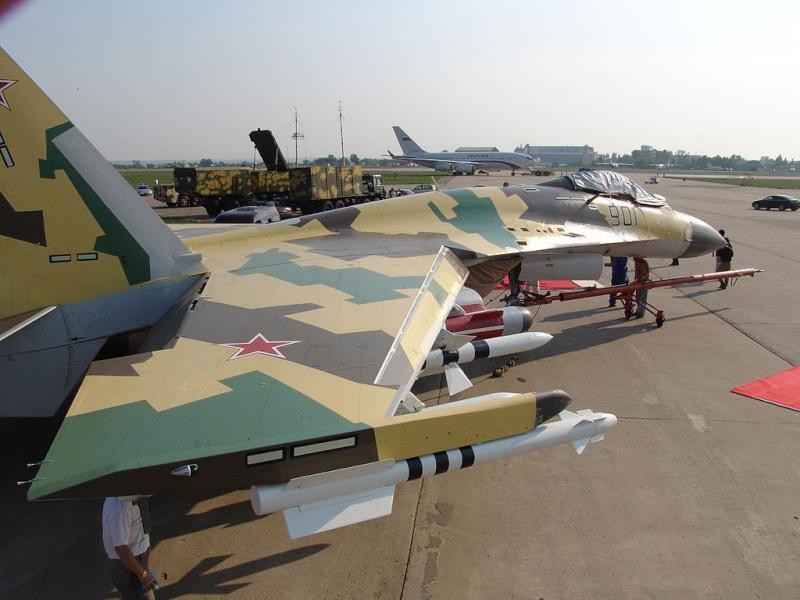 sukhoi 35BM Maks2010