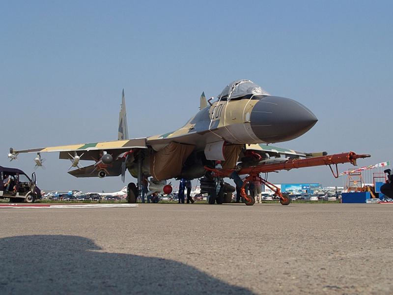 sukhoi 35BM Maks2011