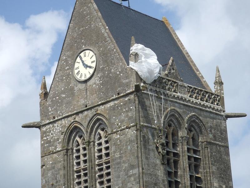 Le musée de Sainte Mère L'église Dscf3518