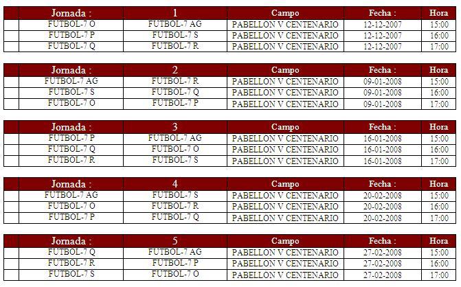 Calendario equipo futbol 7 AG (chalet 7 y chalet 12) Calend10