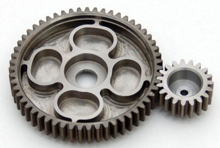 pignon moteur 19 dent + courronne 55 dent Pignon10