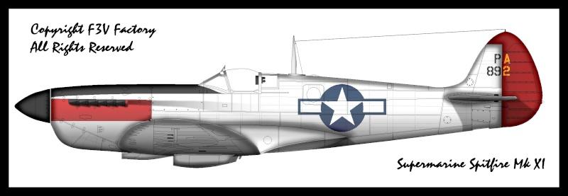 Les Spitfires donnés aux Américains Spitfi10