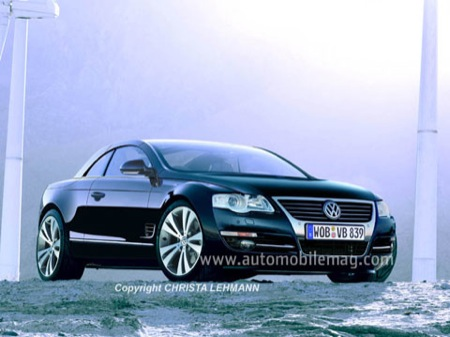 Volkswagen Phaeton descapotable Volksw11