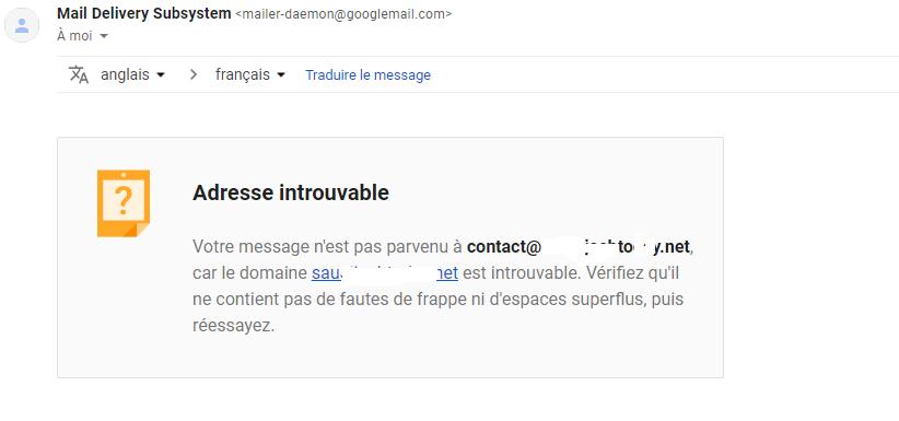 مشكلة في استقبال الرسائل على  البريد الإلكتروني للمنتدى Captur10