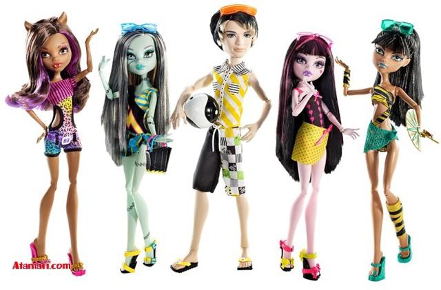 Monster High, les nouvelles venues de Mattel - Page 5 Monste10