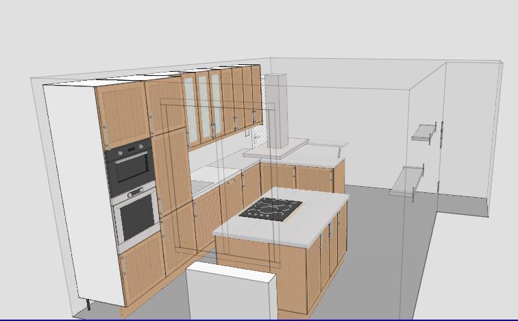 une cuisine dans une autre pièce possible ? - Page 2 Cuisin10
