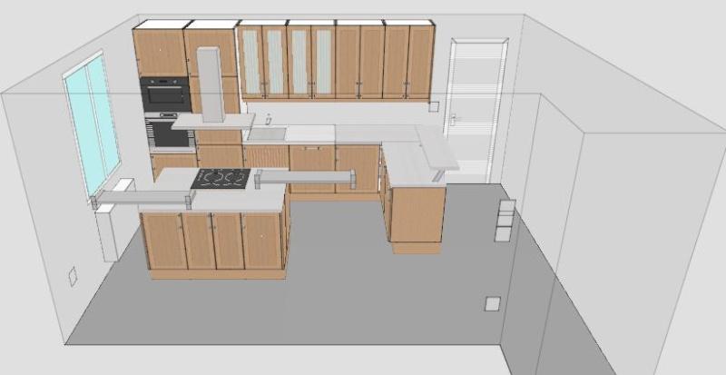 une cuisine dans une autre pièce possible ? - Page 2 Cuisin11