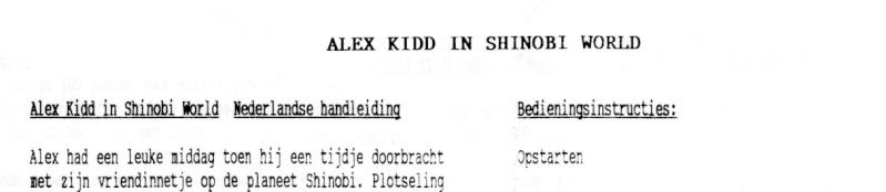 """Les """"Nederlandse handeleiding"""" ou feuilles d'instruction en néerlandais Sms_in11"""