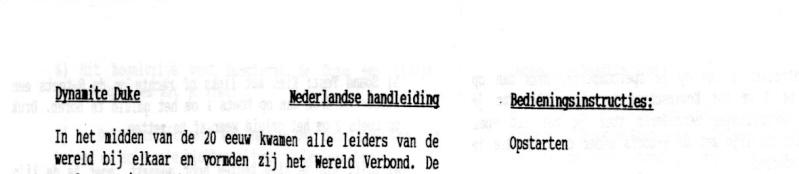 """Les """"Nederlandse handeleiding"""" ou feuilles d'instruction en néerlandais Sms_in12"""