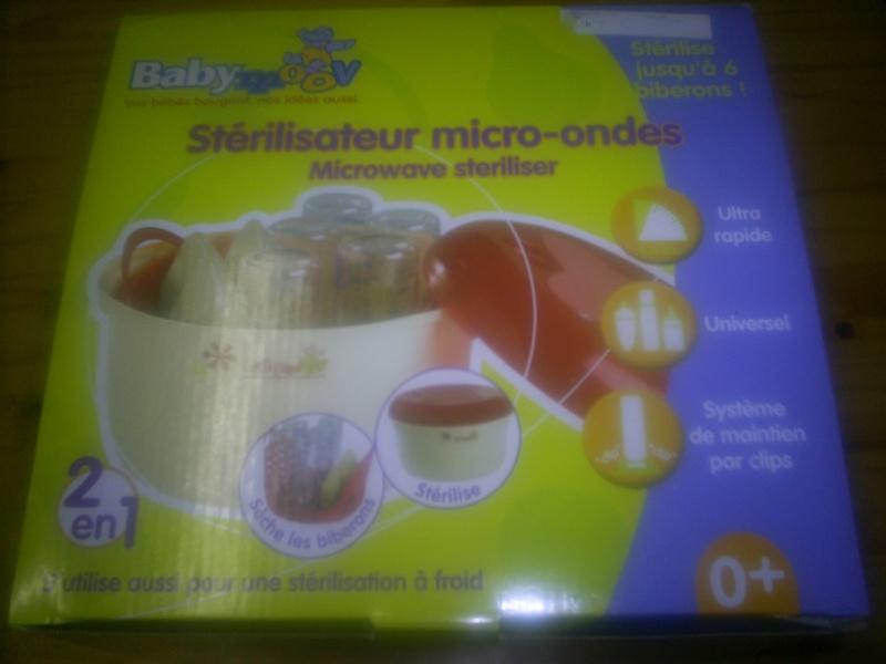 stérilisateur Babymoov pour micro ondes Staril10