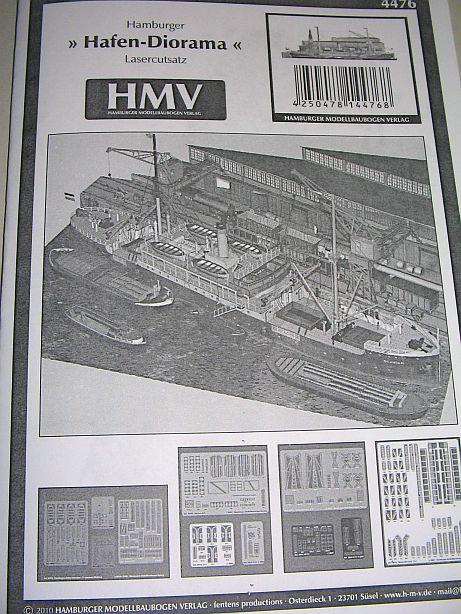 "Lasercutsatz zum ""Hamburger Hafendiorama"" vom HMV Hd0210"