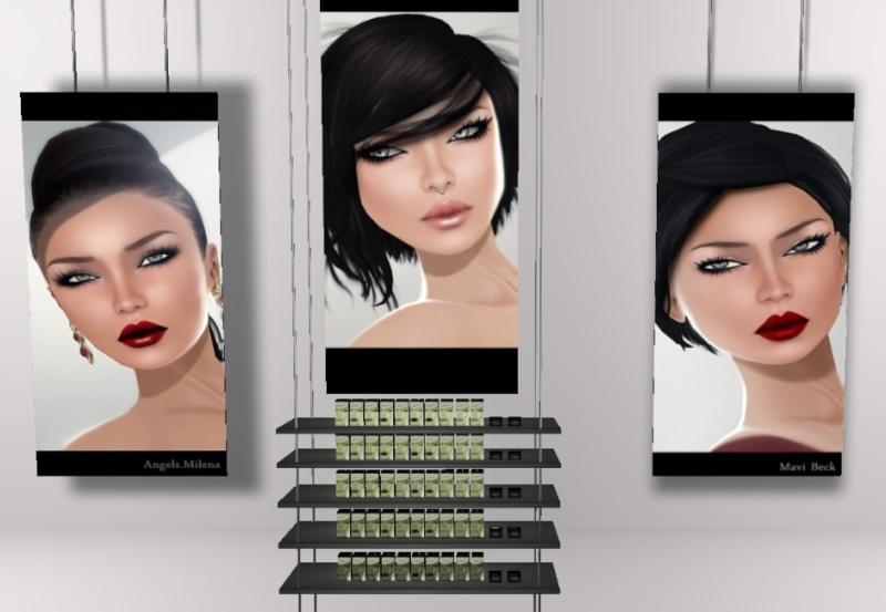 [Mixte] Beauty Avatar devient Glam affair & Tableau vivant Monica10