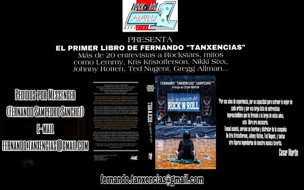 """Libro """"Todo En Nombre Del Rock'N'Roll"""" por Fernando Tanxencias (Popular 1) Anunci10"""